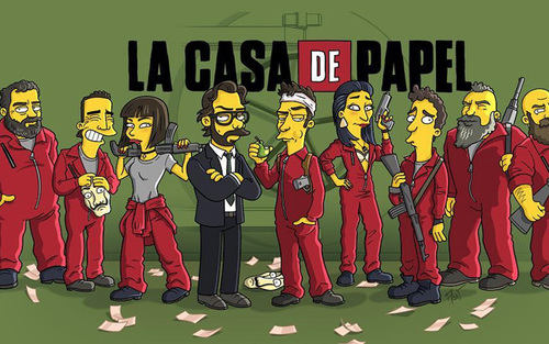 "Escape Game ""La Casa de Papel"""