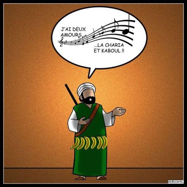 Continuons donc de rire...plutôt que d'en pleurer, du Covid, de la rentrée des classes, et encore et toujours des talibans...