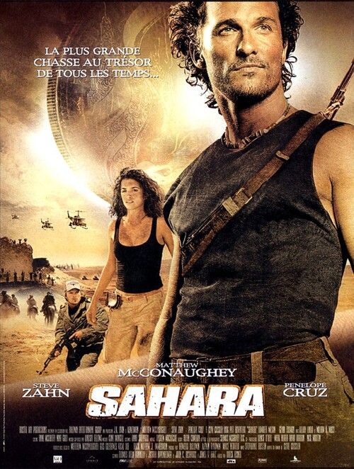 SAHARA BOX OFFICE FRANCE 2005