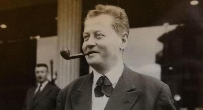 Jean Combet, courageux successeur   de Camille Blanc à la mairie d'Evian