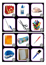 Loto: What's in my schoolbag?