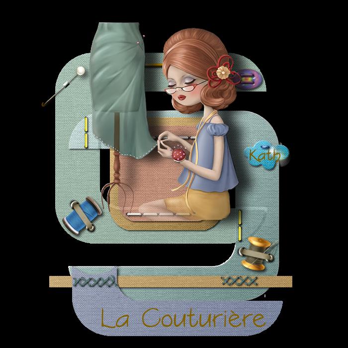 LA COUTURIERE - HOCKEYEUR : Template de Août