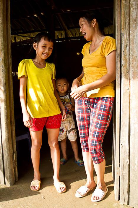 Les Enfants de Vinh Phuc-2 La misère gaie de Ha, petite fille San Giu
