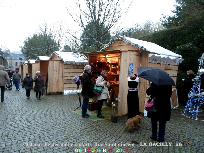 Animations   NOEL  A LA  GACILLY   2/3          D  18-12-2015