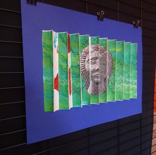 """""""Oeuvres en liberté, une superbe exposition de travaux d'élèves a été proposée par le festival de Châtillon-Scènes"""