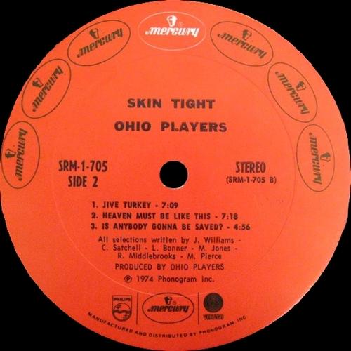 "Ohio Players : Album "" Skin Tight "" Mercury Records SRM-1-705 [ US ]"
