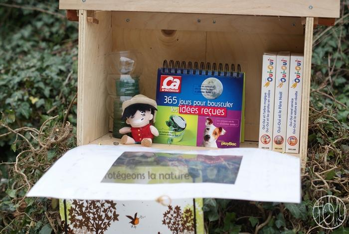 Ecolotruc n°11 : Installer une boite à dons