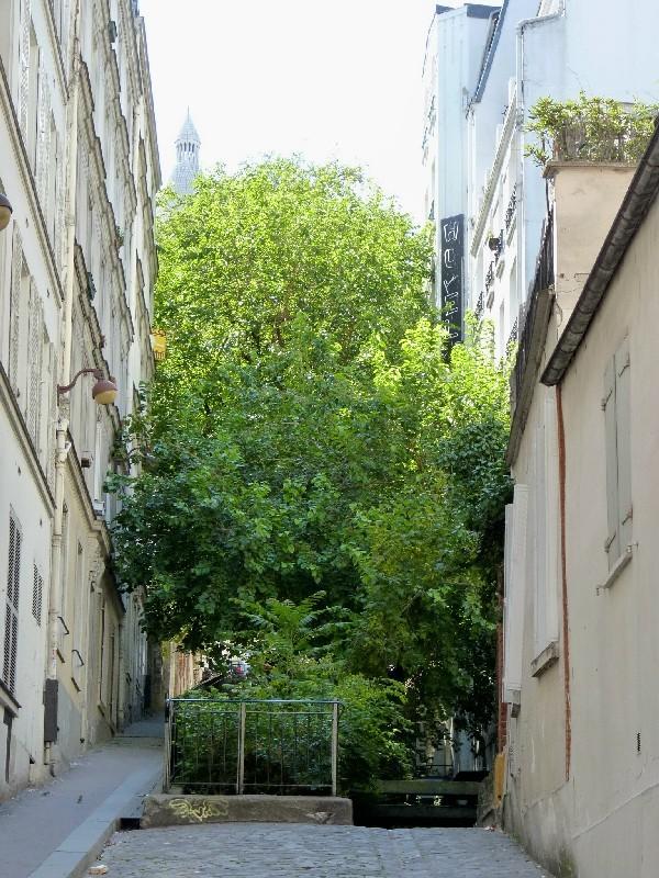21 - Débouche de la rue du Chevalier-de-la-Barre et de la