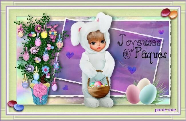 Magnifique week-end de Pâques à tous !