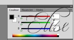 Les couleurs des nuanciers