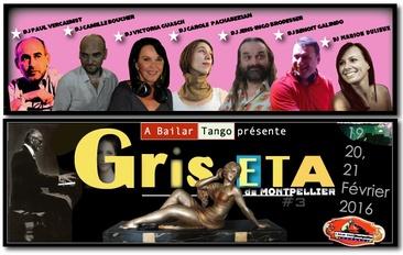 INSCRIPTIONS GRISETA #3 19-20-21 FÉVRIER 2016