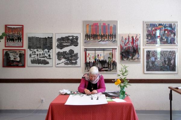 """""""Recycl'Art"""", l'exposition ds Amis d'Aignay le Duc et Alentours, nous a montré que l'on pouvait superbement transformer des déchets en oeuvres d'art !"""