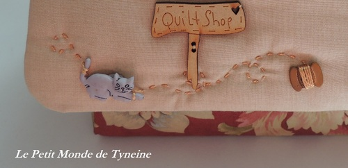 Boîte à couture - Quilt made by Tyneine