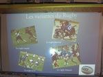 """Huitième exposé """"Le rugby"""" (2)"""