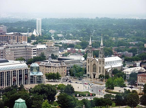Ottawa vue sur Musée des Beaux Arts