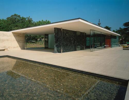 Pavillon Mies Barcelone