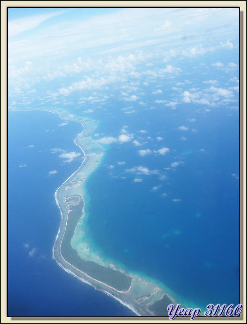 Survol de l'atoll de Rangiroa - Tuamotu - Polynésie française