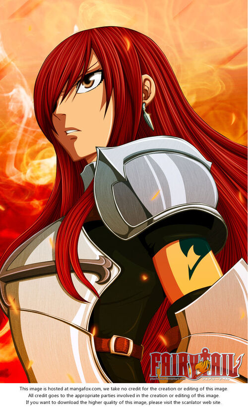 Colorisation Erza
