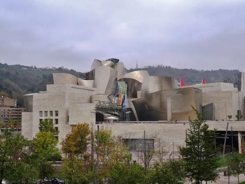 Autour du musée Guggenheim à Bilbao en Espagne (photos)
