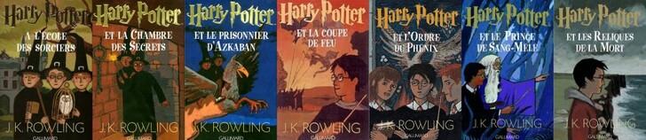 Harry Potter Couverture livre 13 07 French 900x196 Les couvertures des livres Harry Potter par pays