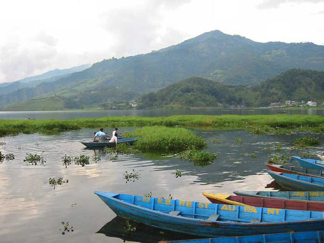 Nepal. Lac Phewa