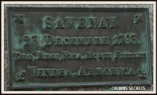 Commémoration de la bataille de Savenay du 21 décembre 2013, petit compte-rendu....