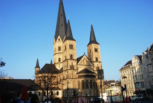 Autour de la maison de Deethoven à Bonn (photos)