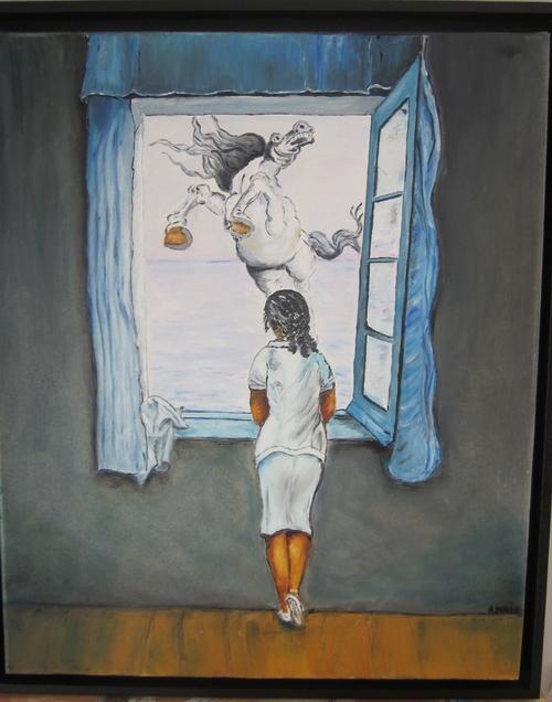 diverses peintures a l'huile