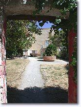 Gréoux les Bains, cour