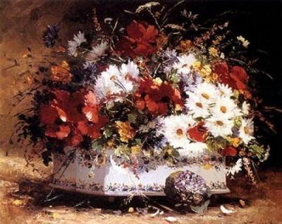 Eugene-Cauchois-Still-Life-of-Spring-Flowers-101752