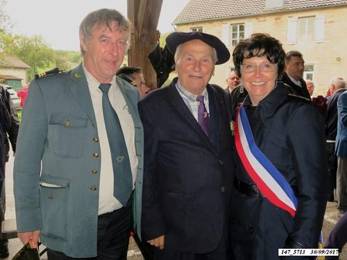 * Champagney-Éboulet, 73ème anniversaire de la Libération - 30 septembre 2017