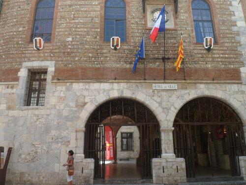 Mairie de Perpignan / salle des Mariages