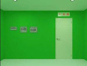 All green room escape