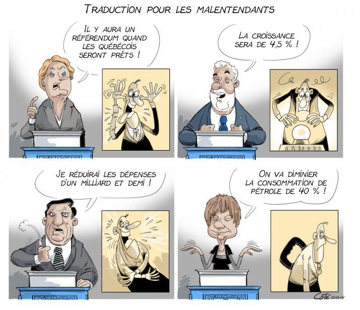 Traduction pour les malentendants - André-Philippe Côté