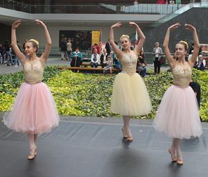 dance ballet dancers outdoor ballet