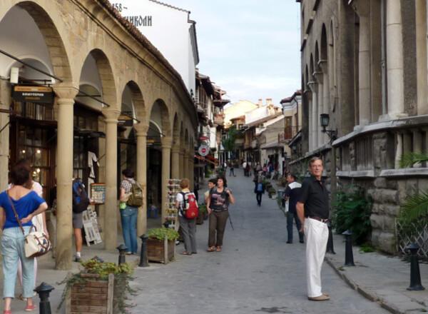 Jour 12 - Veliko Tarnovo - La rue touristique