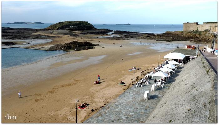 Ville de Saint Malo ( Bretagne )