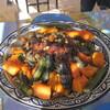 Couscous fait par Josyane à Essaouira