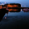 falaise de stykkisholmur by night.JPG