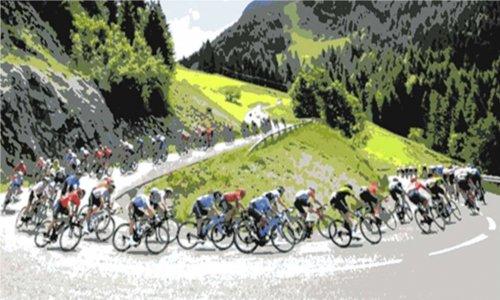 Cyclisme illustration