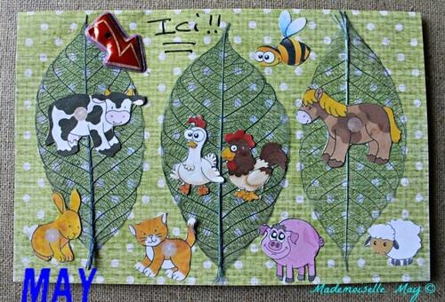 Résultat du concours de Juillet : les animaux de la ferme !