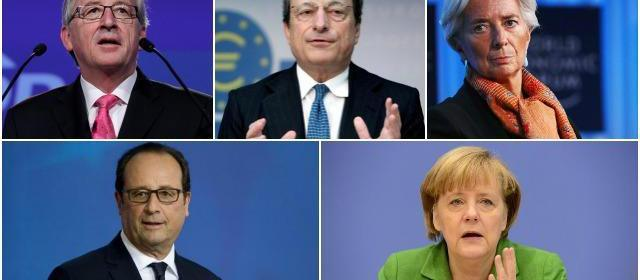 hollande-juncker-lagarde-et-draghi-chez-merkel-berlin