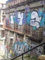 Les vieilles rues de Porto, les tags et graffes