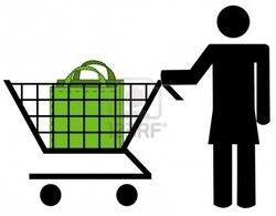 Caban et sac réutilisable pour faire vos courses