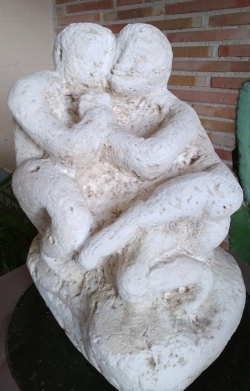 """Sculpture """"le couple"""""""