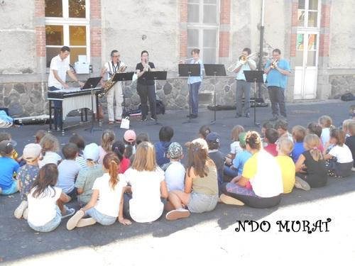 Intervention de l'école de Musique