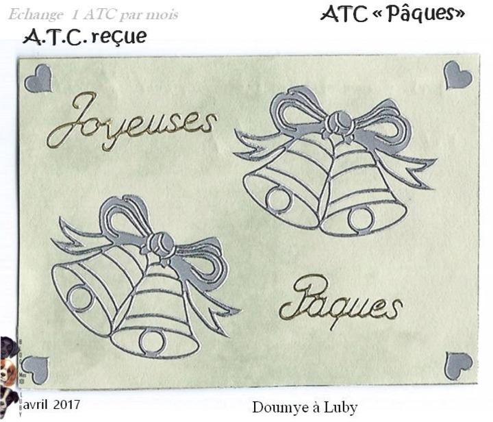 """ATC """"Pâques"""""""
