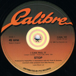 Stop - I Can Feel It