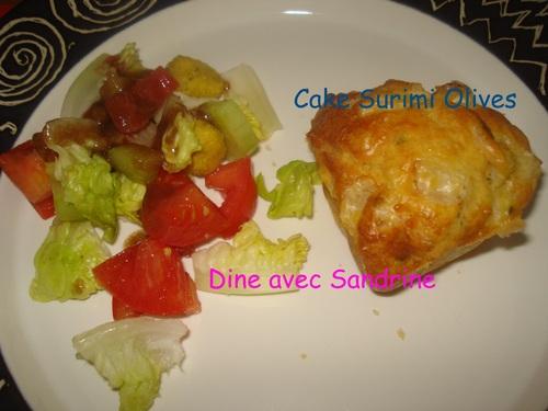 Des Cakes Surimi et Courgettes