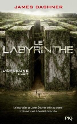 Couverture : L'épreuve, Tome 1 : Le Labyrinthe